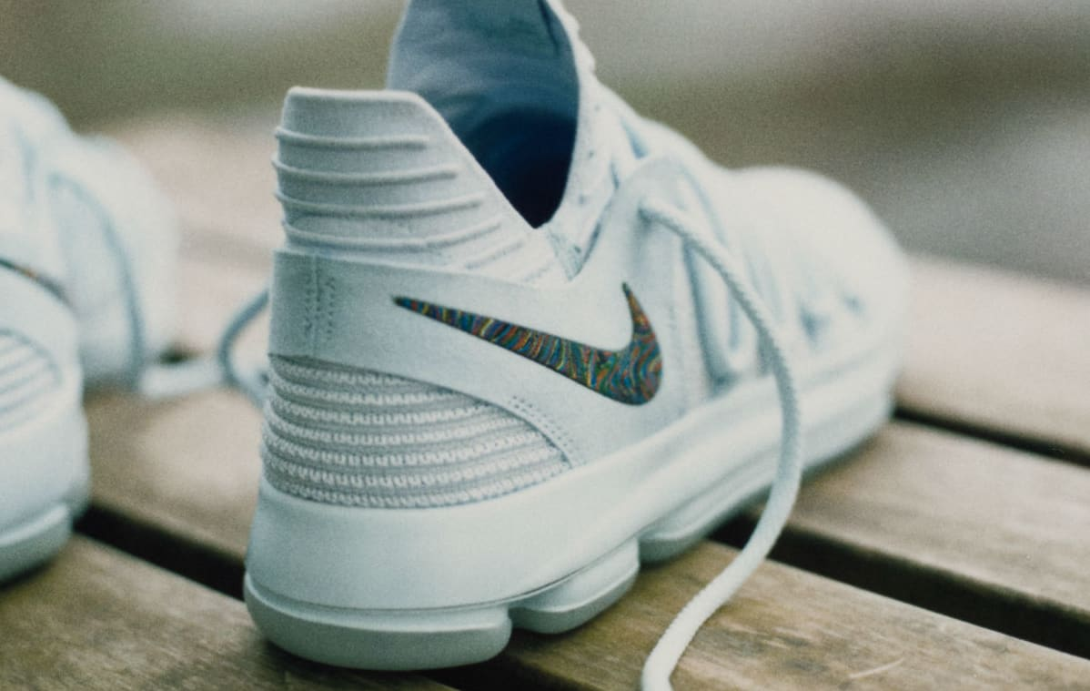 Nike KD 10 Anniversary Release Date Lateral
