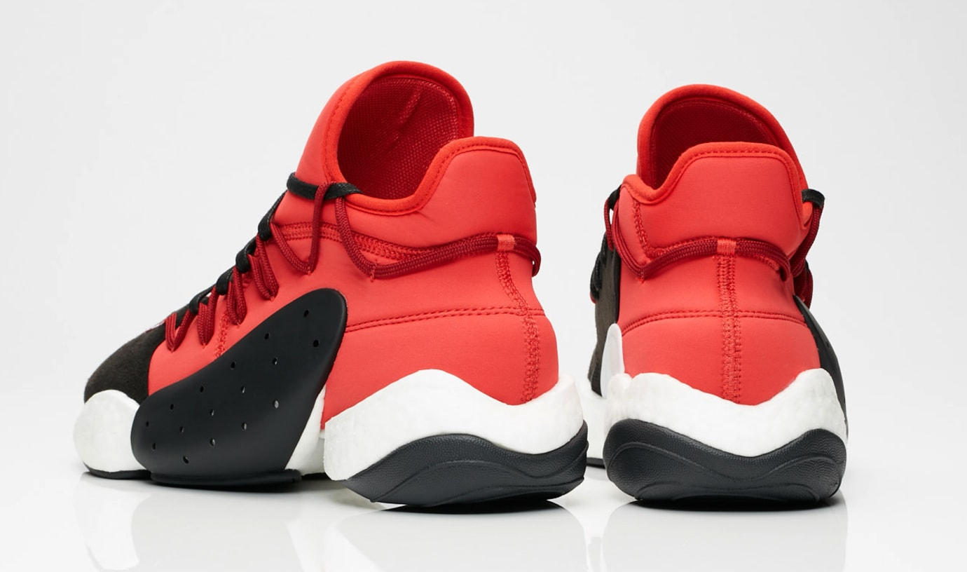 b8e7c750734a Adidas Y-3 BYW Bball BC0338 Core Black Lush Red Core White Release ...
