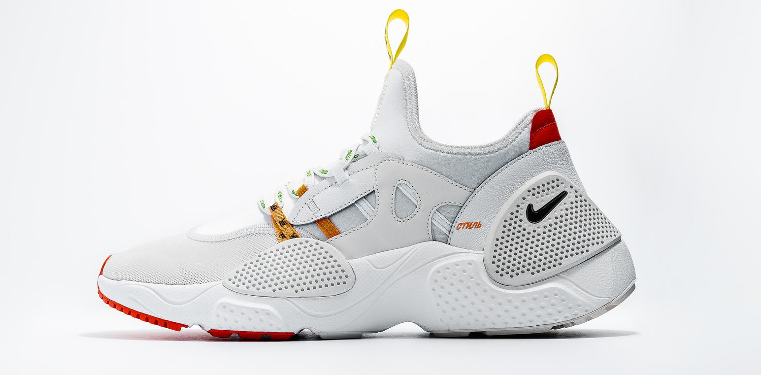 Heron Preston x Nike Huarache EDGE 'White (Detail)
