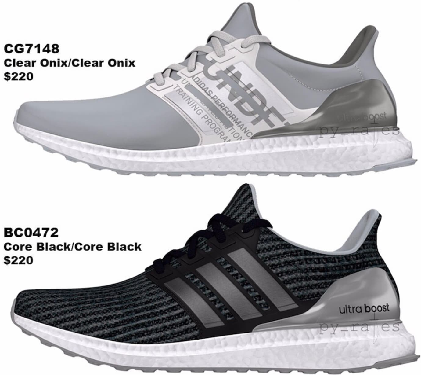 f182f9f1b945 adidas undefeated ultra boosts fall winter 2018