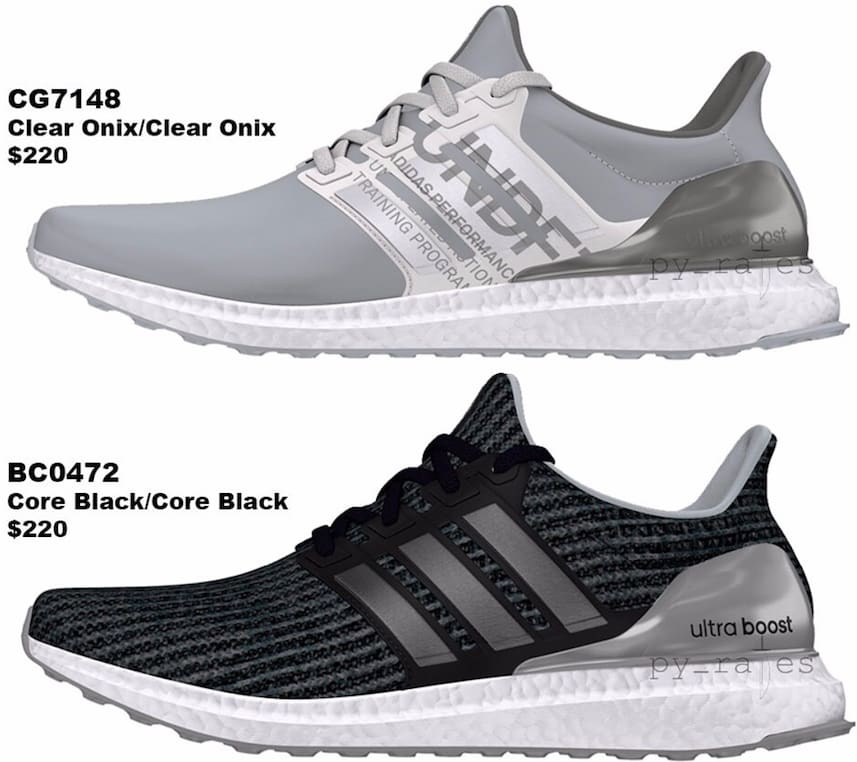 adidas undefeated ultra boosts fall winter 2018
