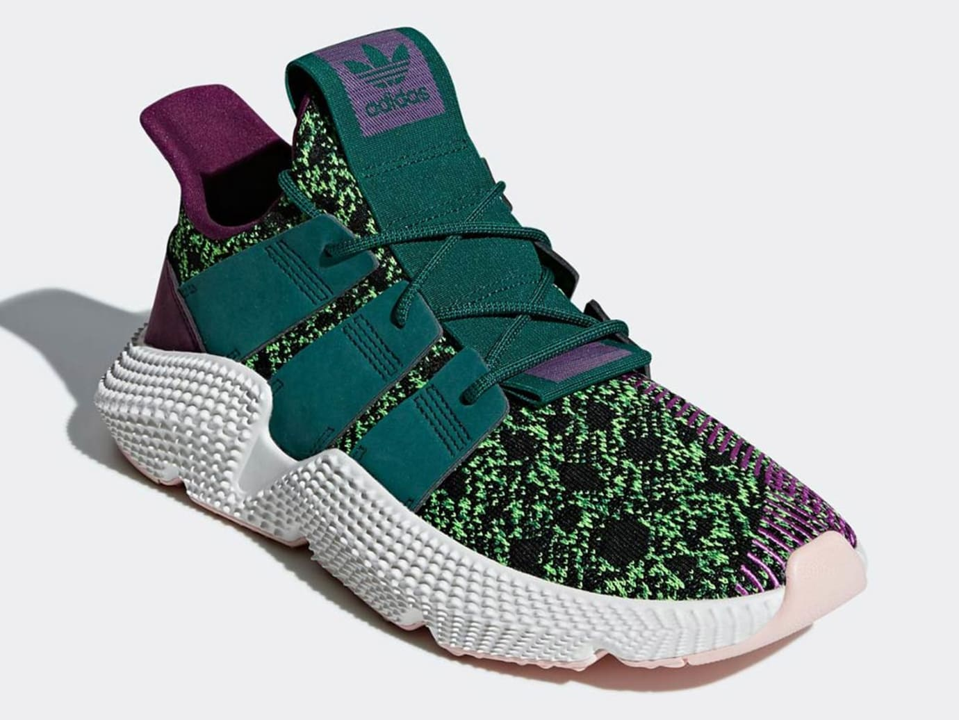 premium selection 2e876 1c146 Image via Adidas Dragon Ball Z x Adidas Prophere Cell Release Date D97053  Front