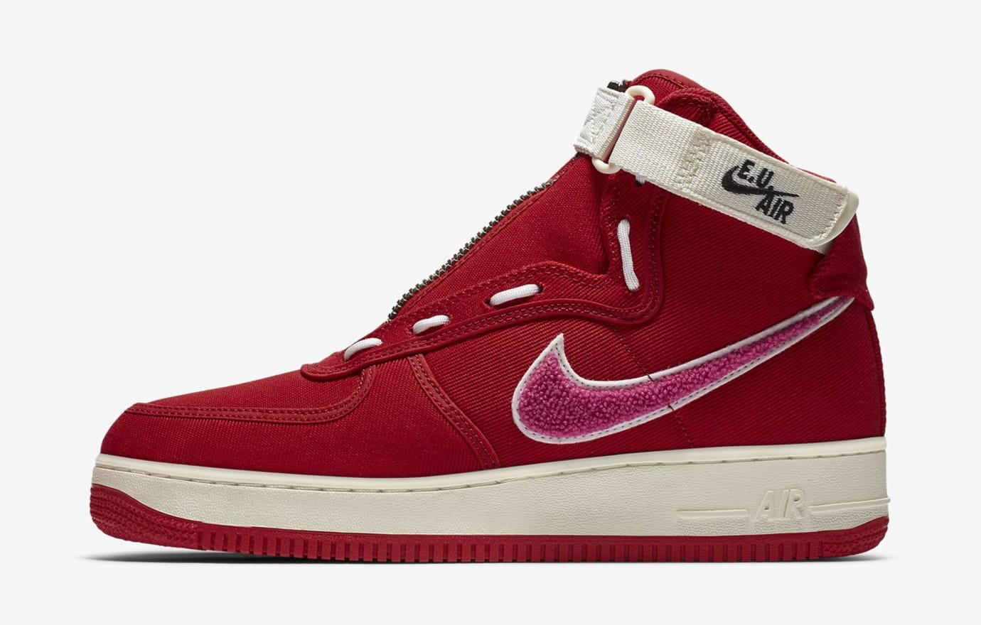 Emotionally Unavailable x Nike Air Force 1 High (Lateral)