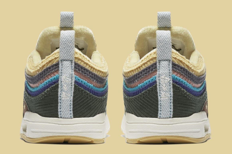 Sean Wotherspoon x Nike Air Max 1/97 Toddler BQ1670-400 (Heel)