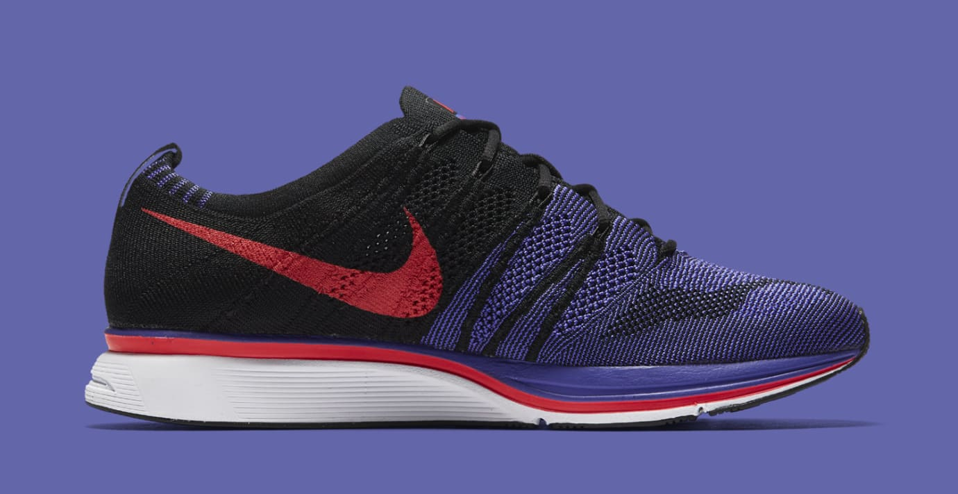b2418a6d2416 Nike Flyknit Trainer  Siren Red Persian Violet  AH8396-003 (Lateral)