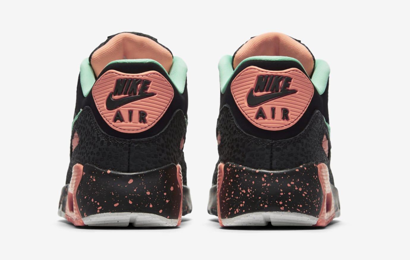 Nike Air Max 90 GS AJ2776-001 (Heel)