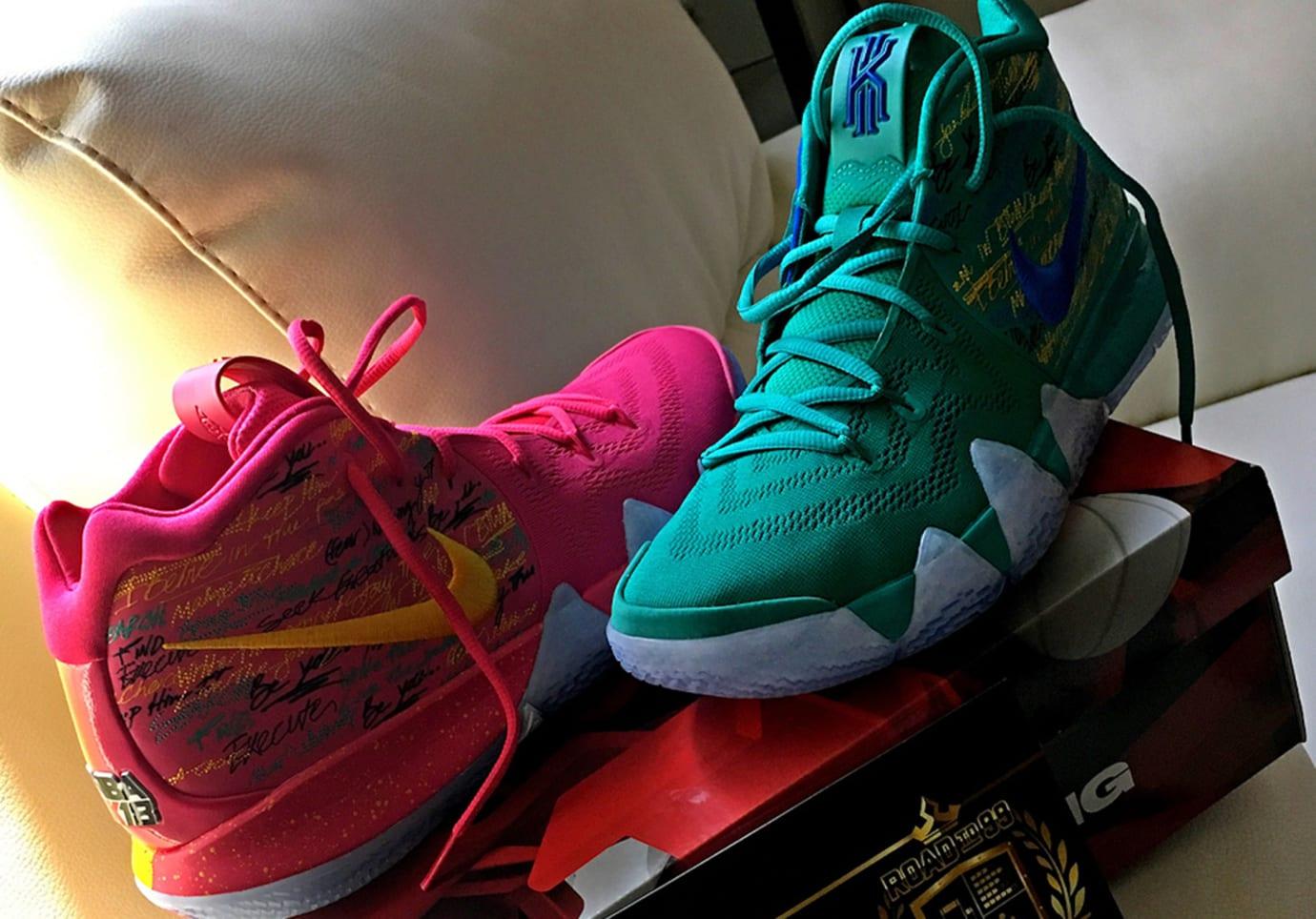 práctico ven propiedad  Nike Kyrie 4 'NBA 2K18' Limited to 200 Pairs | Sole Collector