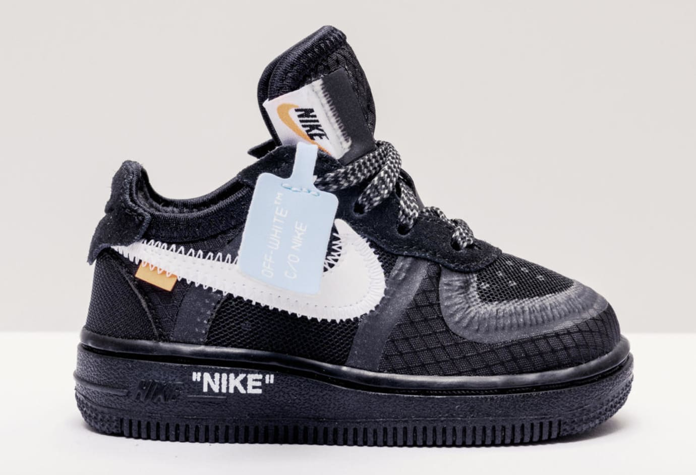 size 40 8558d 837f3 Virgil Abloh x Nike Air Force 1  The 10   Black Cone