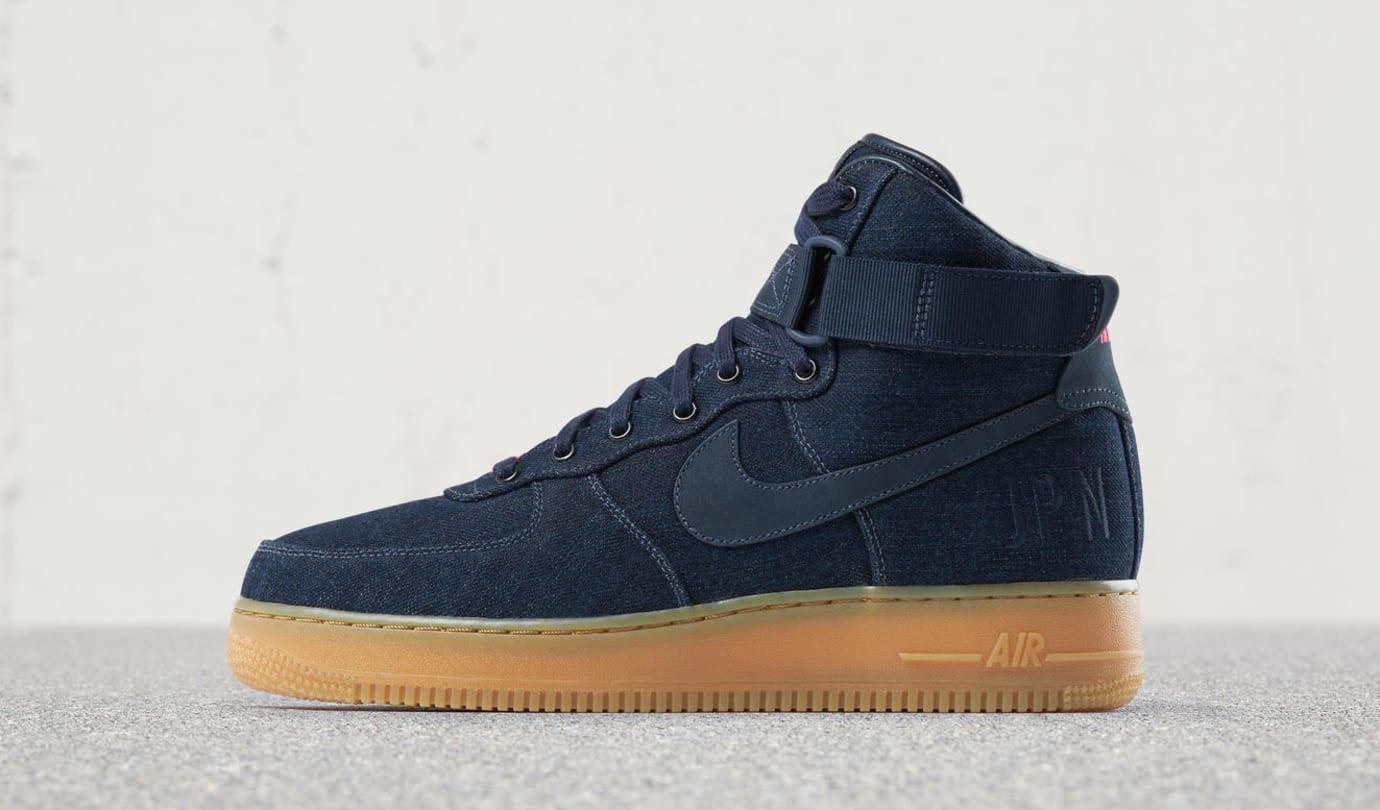Nike Air Force 1 High NIKE iD 'Indigo'