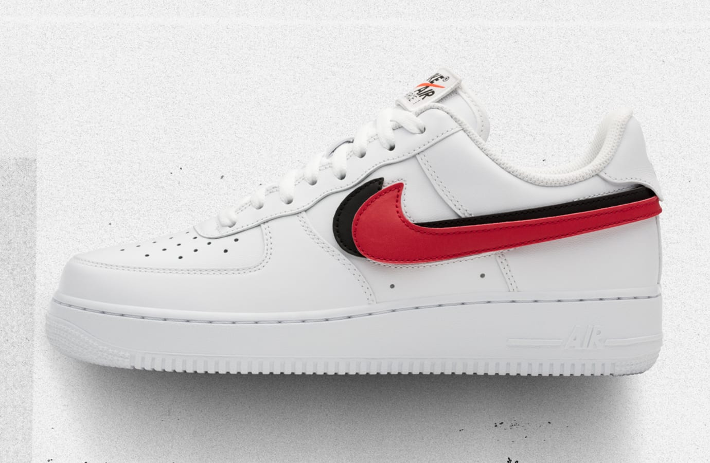 01d632b2f87 Nike Air Force 1 Low Swoosh Pack White Release Date AH8462-102