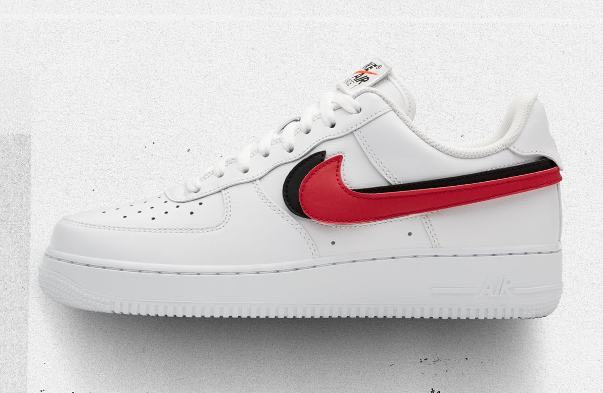Nike Air Force 1 Low Swoosh Pack White Release Date AH8462-102