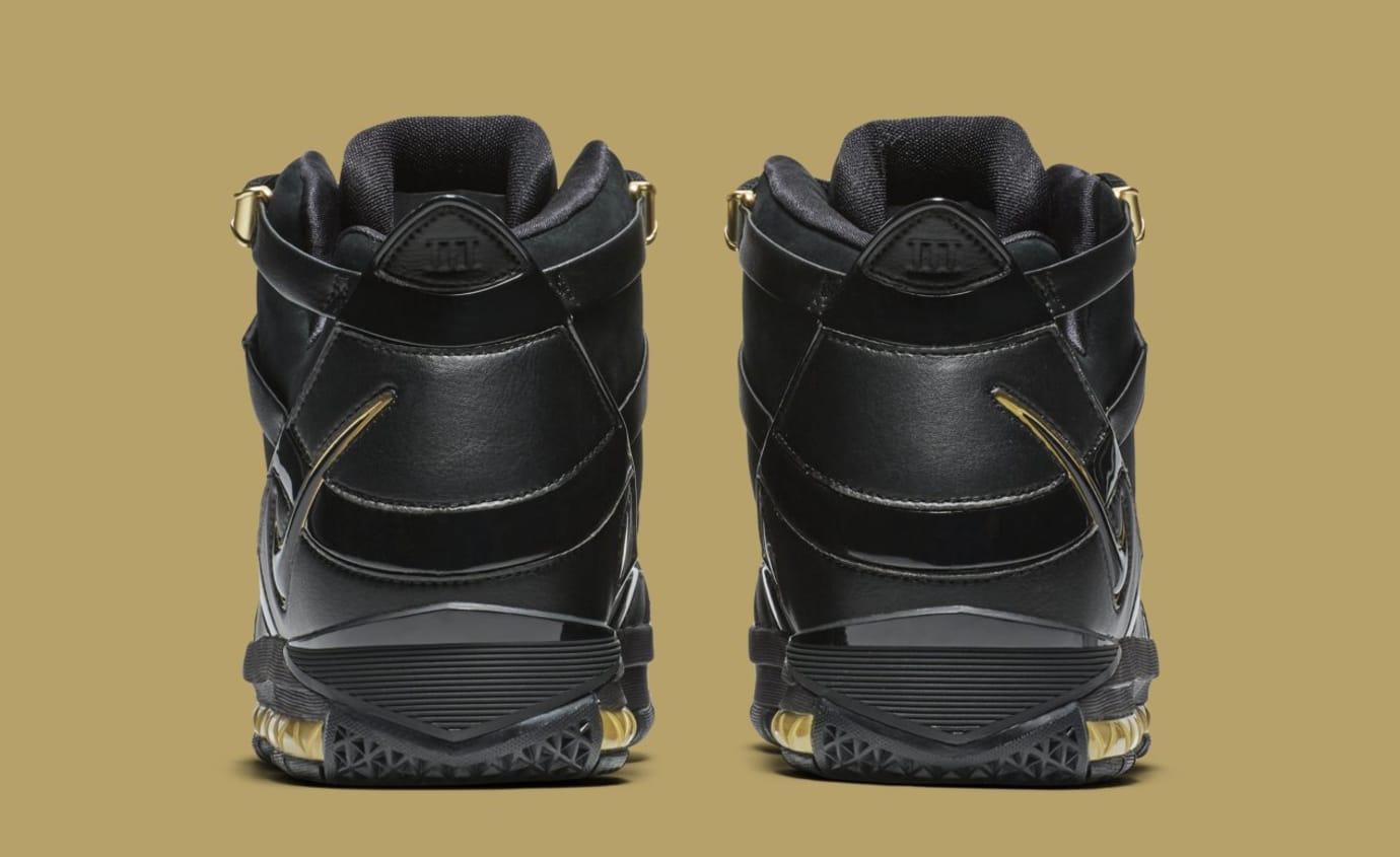 28ed92c98ef Image via Nike Nike LeBron 3  Black Gold  Retro AO2434-001 (Heel)