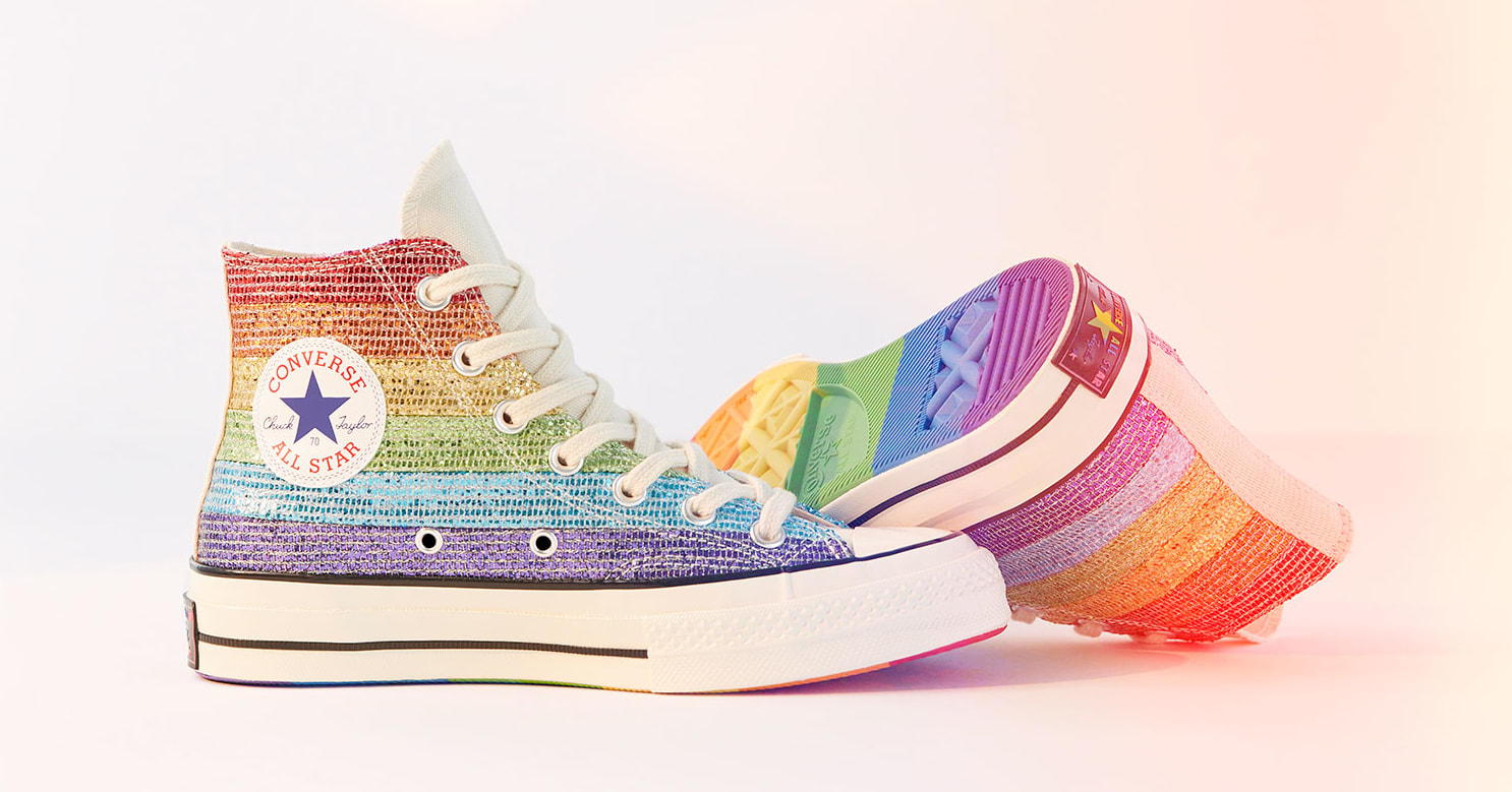 Miley Cyrus x Converse Chuck 70 High 'Pride'