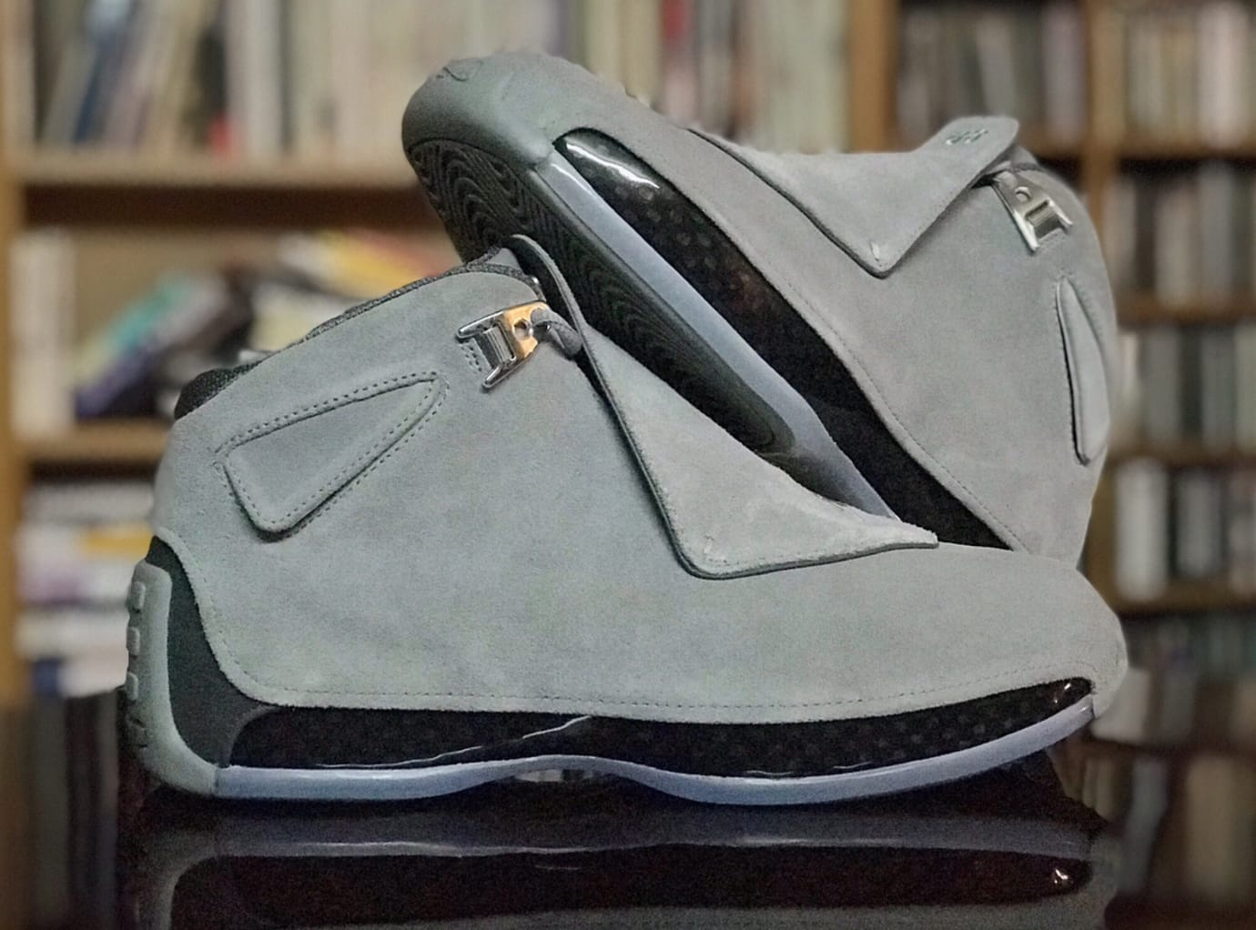 Air Jordan 18 'Cool Grey' AA2494-001 (Pair)