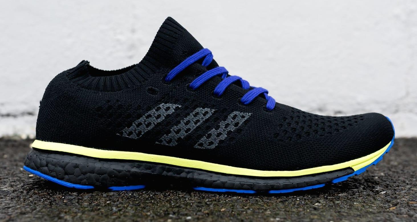Adidas by Kolor Adizero Prime Black/Grey/Yellow (Lateral)