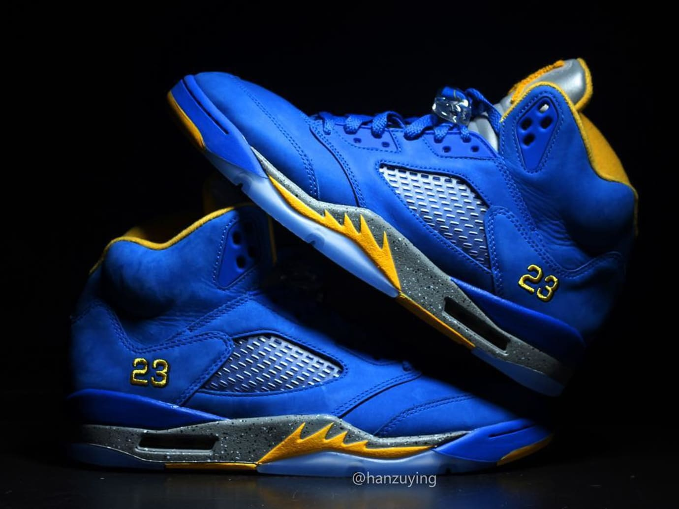 Air Jordan 5 LSP 'Laney' Varsity/Royal CD2720-400