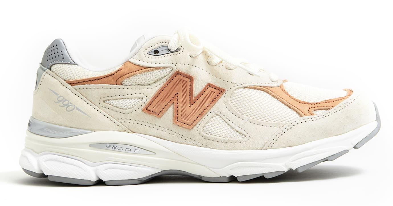 Todd Snyder x New Balance 990v3 'Pale Ale' (Lateral)