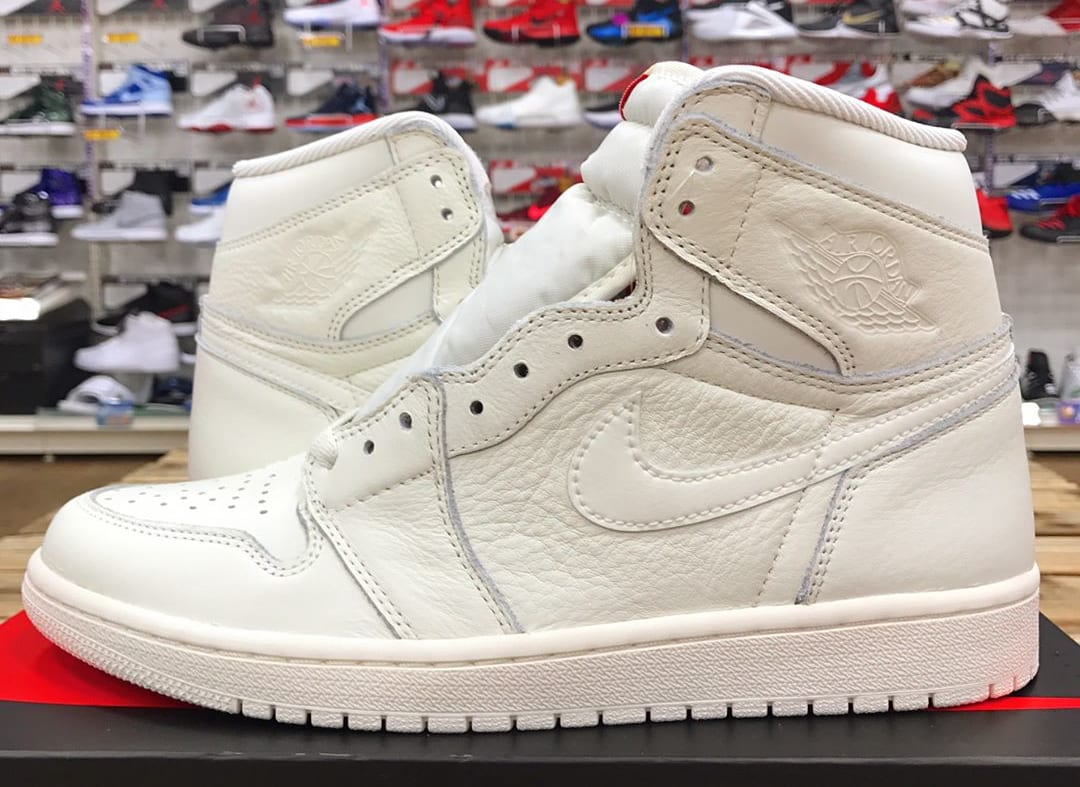 Air Jordan 1 OG All-White 2017 Release Date | Sole Collector