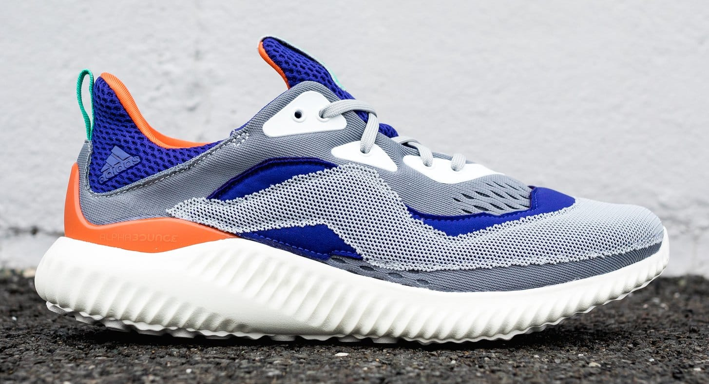 Adidas by Kolor Alphabounce Purple/Grey (Lateral)