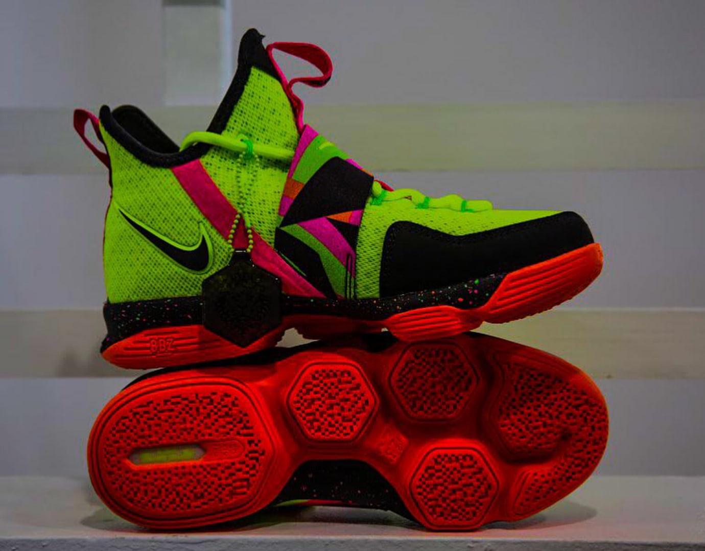 Nike LeBron 14 Ultimate Warrior Profile AA3258-703