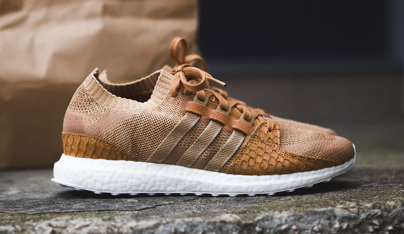 Pusha T x Adidas EQT Support Ultra Brown Paper Bag Release Date Profile