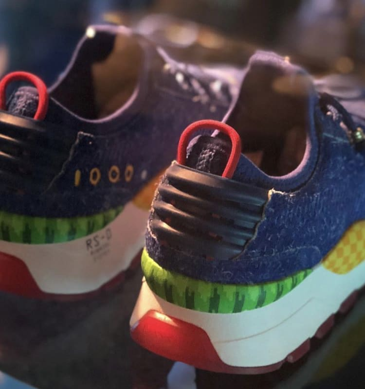 Sonic the Hedgehog x Puma RS-0 (Heel)
