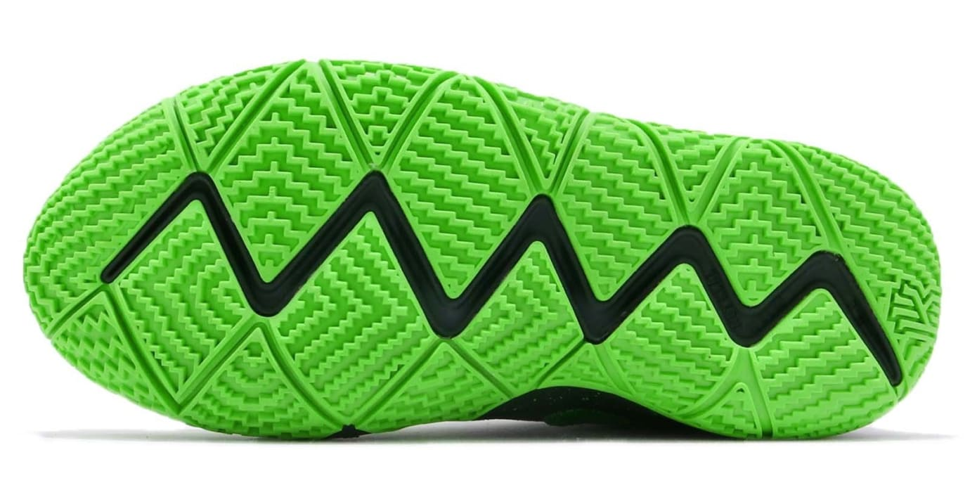 Nike Kyrie 4 GS Spinach Green Release Date AA2897-333 Sole