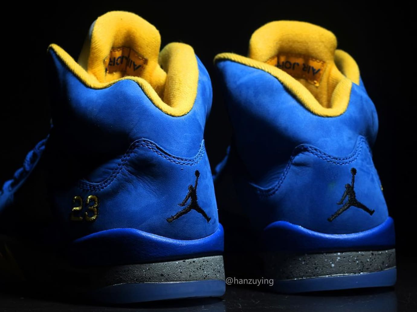7997350957d00f Image via Instagram   hanzuying Air Jordan 5 JSP  Laney  Varsity Royal  CS2720-400