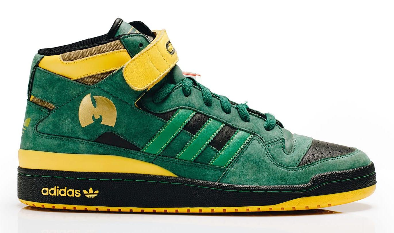 Def Jam x Adidas Forum Mid 'Method Man' StockX Wu-Tang C.R.E.A.M. Campaign