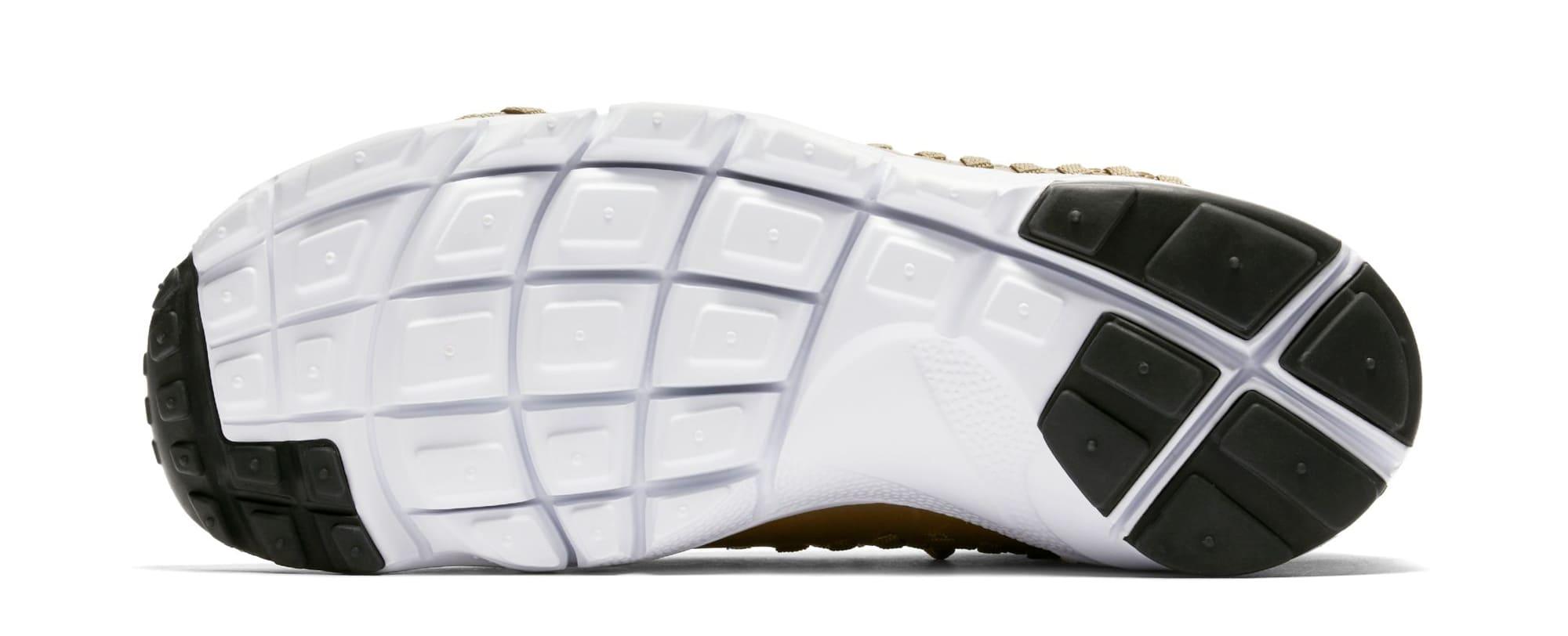 Nike Footscape Woven Chukka Flyknit 'Golden Beige' AO5417-400 (Sole)