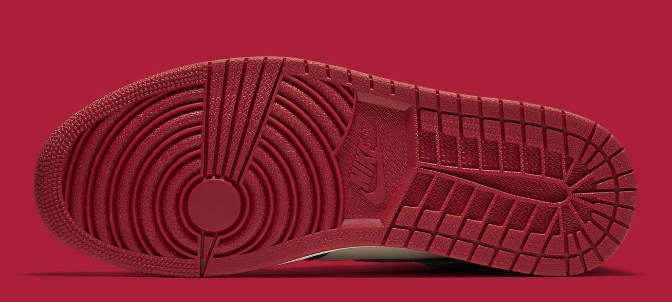 Air Jordan 1 'Bred Toe' Gym Red/Black-Summit White 555088-610 (Bottom)