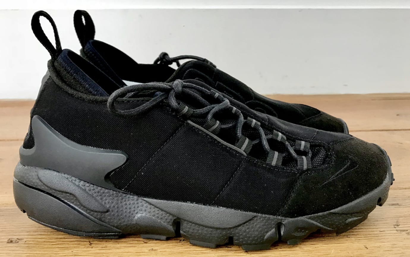 Comme des Garçons Black x Nike Air Footscape Motion (Lateral)
