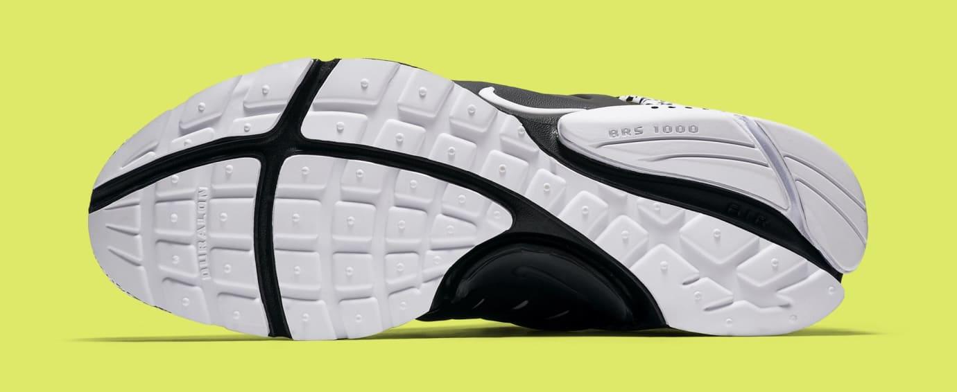 Acronym x Nike Air Presto Mid 'White/Dynamic Yellow/Black' AH7832-100 (Bottom)