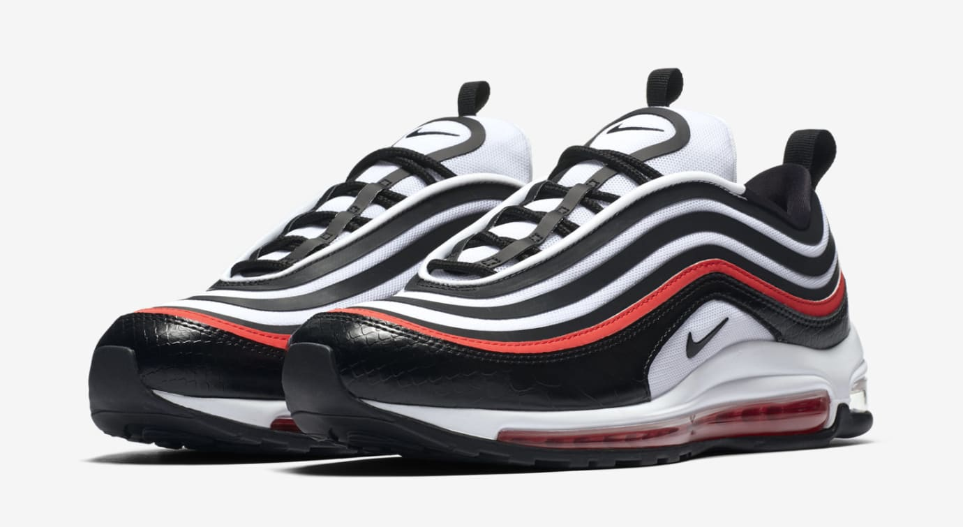 Nike Air Max 97 Ultra 'Black/Red' AH6806-005 (Pair)