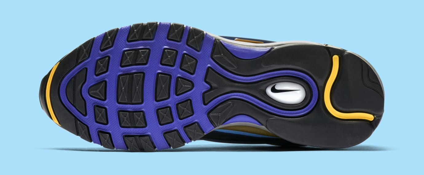 Nike Air Max Deluxe 'Midnight Navy/Laser Orange' AQ1272-400 (Bottom)