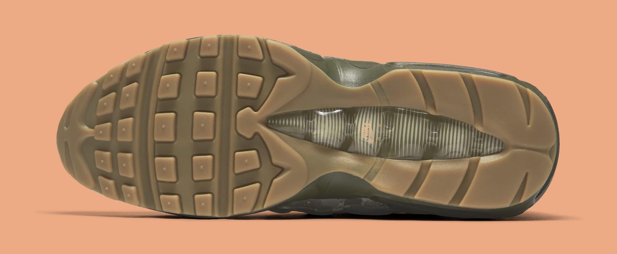 Nike Air Max 95 'Desert Camo' AQ6303-001 (Bottom)