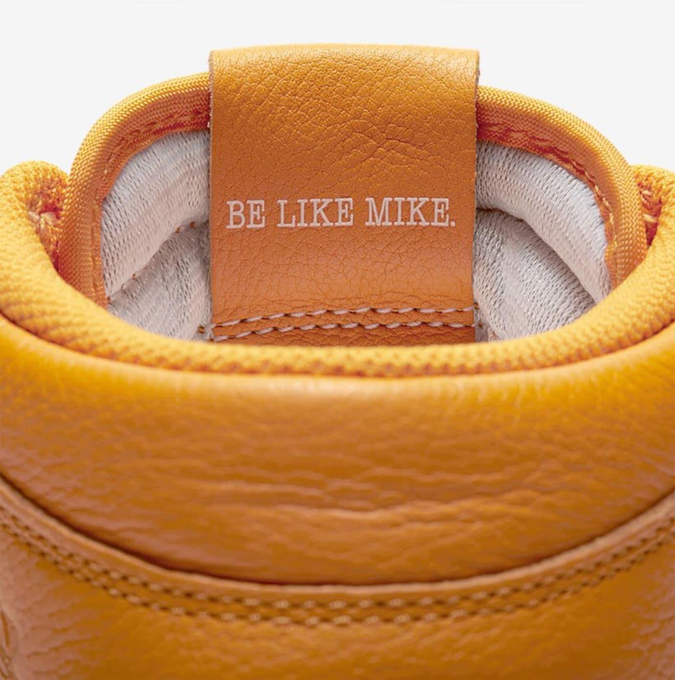 Air Jordan 1 Gatorade Orange Release Date AJ5997-880 Tongue