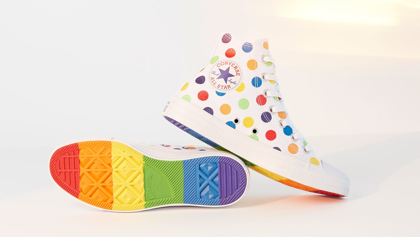 Miley Cyrus x Converse Chuck Taylor All-Star High 'Pride'