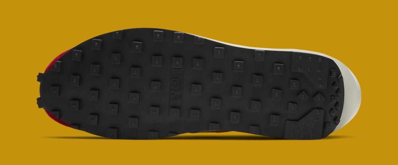 Sacai x Nike LDWaffle 'Varsity Blue/Del Sol/Varsity Red/Black' BV0073-400 (Bottom)