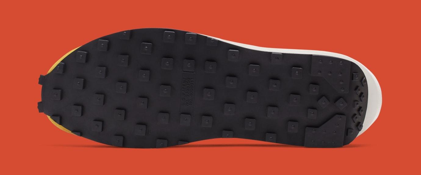 Sacai x Nike LDWaffle 'Green Gusto/Safety Orange/Black' BV0073-300 (Bottom)