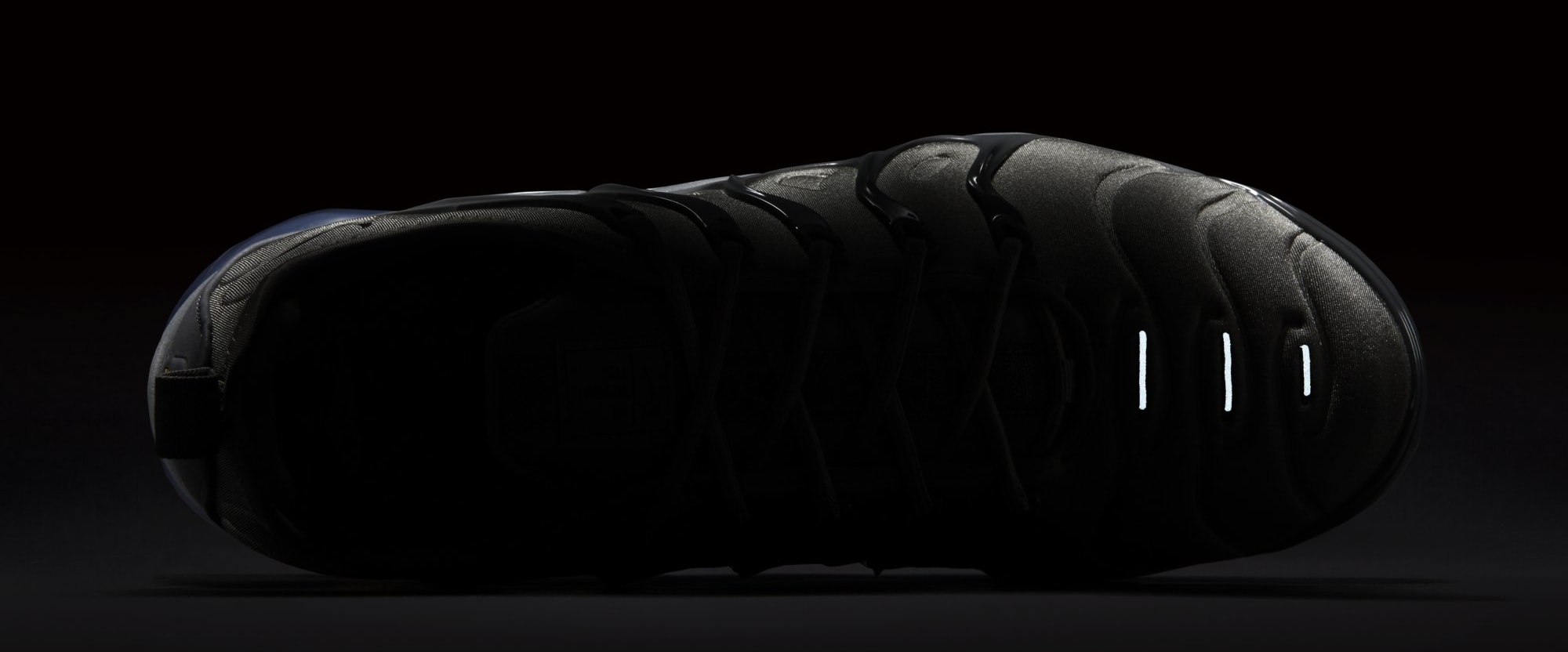 new style 3e027 6d874 Image via Nike Nike VaporMax Plus  Dark Stucco White Dark Grey Anthracite   AT5681-