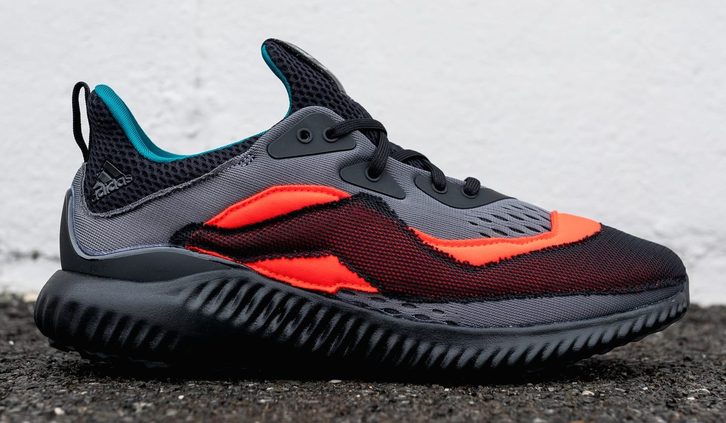 Adidas by Kolor Alphabounce Red/Black (Lateral)