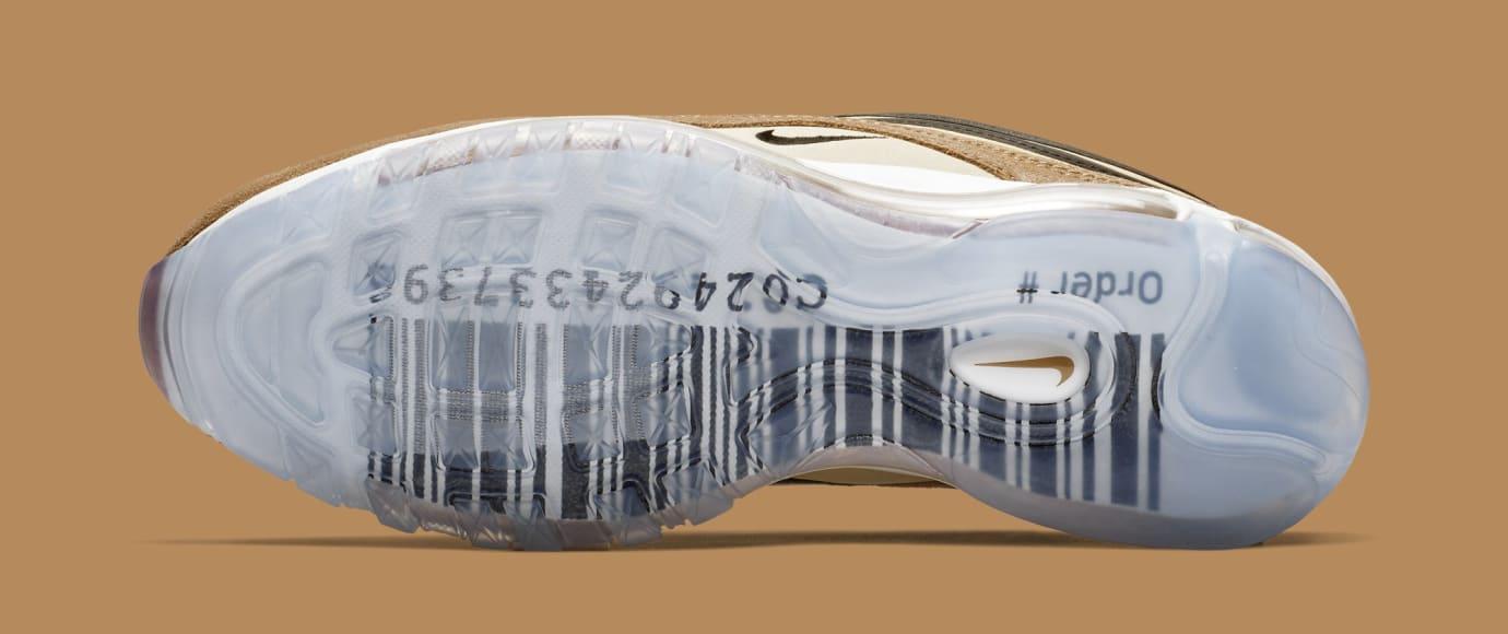 Nike Air Max 97 'Ale Brown/Black-Elemental Gold' 921826-201 (Bottom)