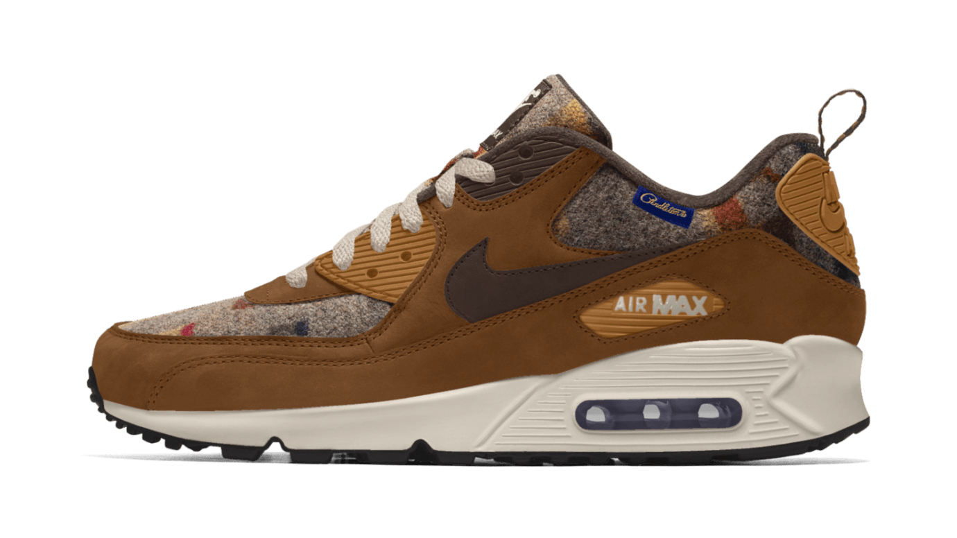 brand new adda3 0fc47 ... Image via Nike Nike Air Max 90 ID Pendleton Wool Buy New Style Nike Air  Max 270 Womens Trainer Shoes Richkin Store 784512 ...