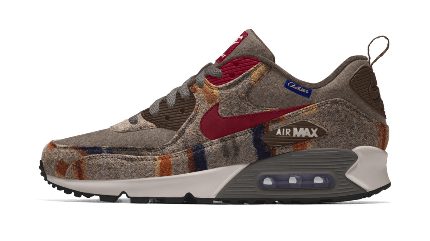 83c49f5665 Nike Air Max 90 iD Pendleton Available Now | Sole Collector