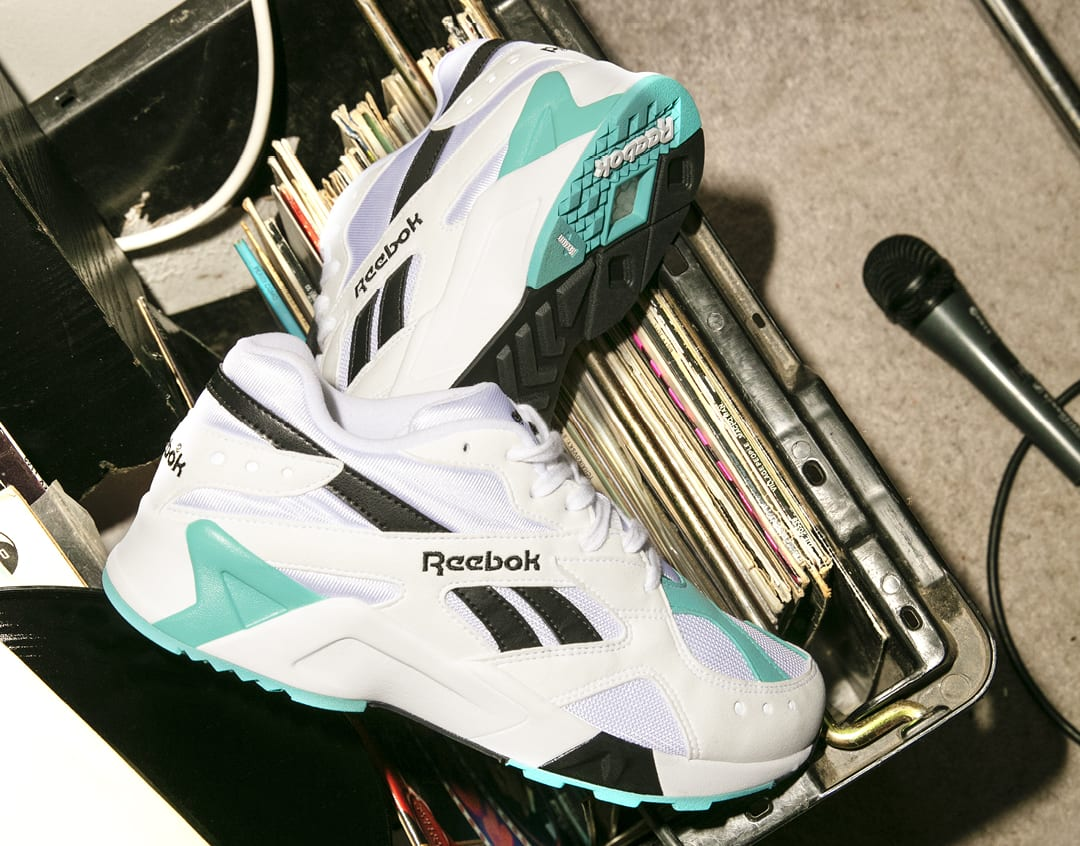 Reebok Aztrek OG 'White/Solid Teal/Black' CN7067 (Pair)
