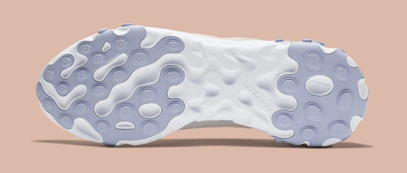 Nike Women's React Element 55 'Pale Pink' BQ2728-601 Sole