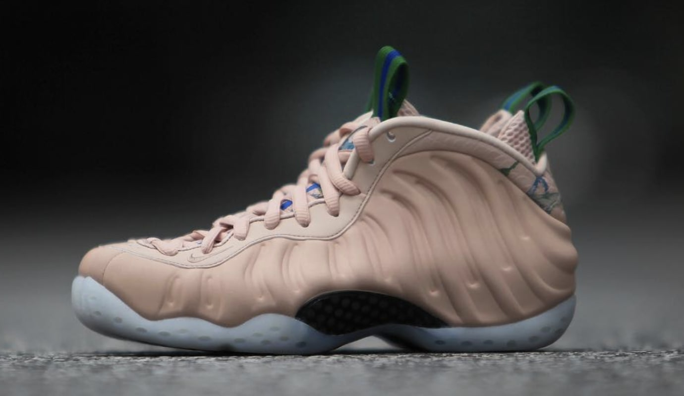 5f36f4672b50 Image via gc911 · WMNS Nike Air Foamposite One  Particle Beige  AA3693-200  (Lateral)