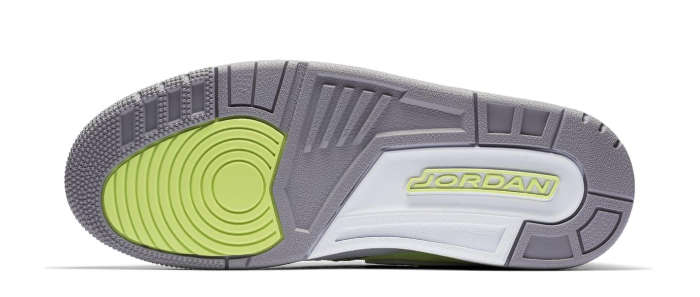 9bca0cd01f6 Image via Nike Don C x Jordan Legacy 312  Ghost Green  AQ4160-301 (Sole)