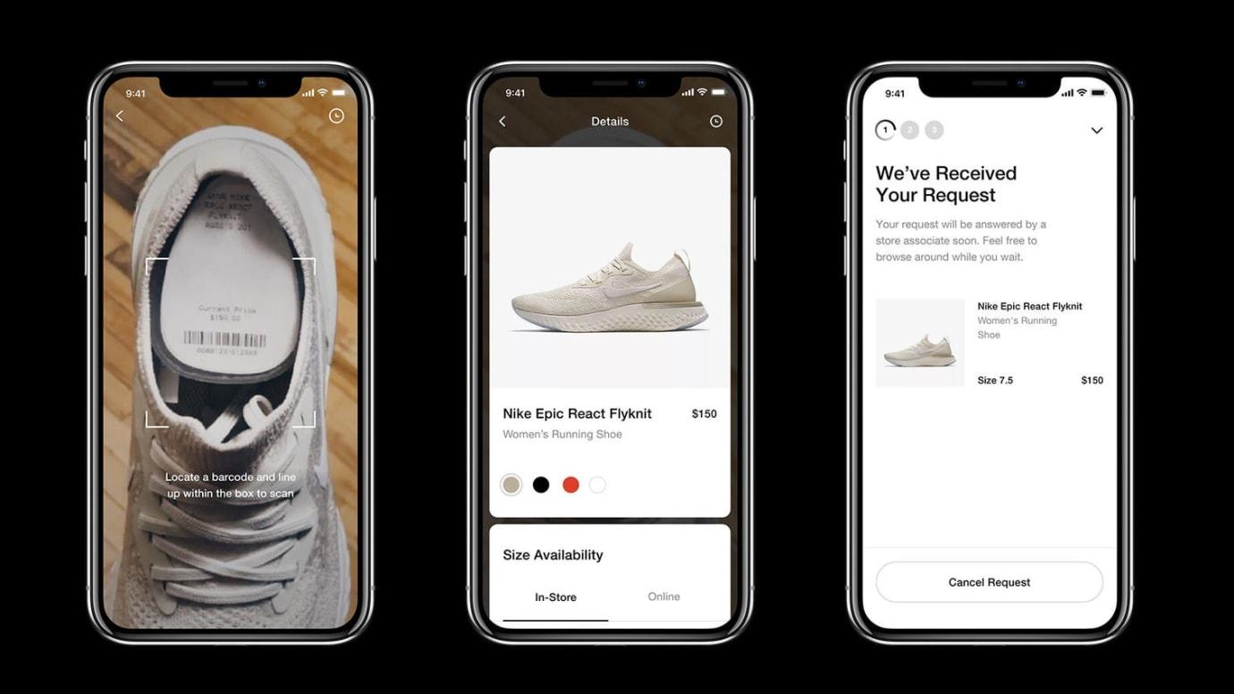 nike-shopping-app